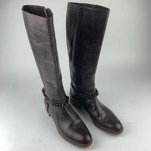 Coach Mabel  Tall Riding Boots Sz 11B